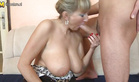 Mature woman skinny granny anal with young man