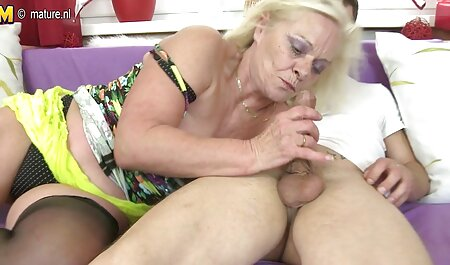 Forest Rider helps two guys granny facial cum