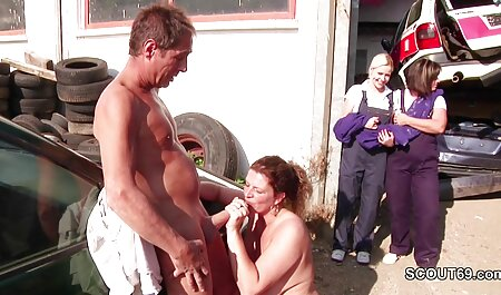 Sink front of a granny and boy sex good fucking.