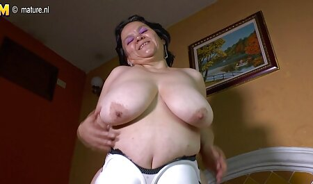 Moaning blonde granny boy sex has a lover black