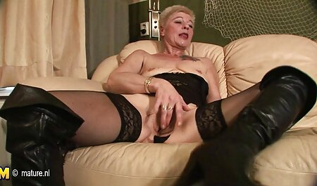 Maid sexy Lucy Skye horny grandma landlord on the couch